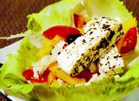 Eggcheese šalát s nivou
